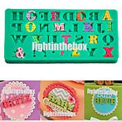 Herramientas para hornear Silicona Ecológica / Manualidades Pastel / Tarta / Chocolate Molde para hornear 1pc