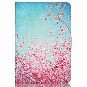 Funda Para Mini iPad 3/2/1 Soporte de Coche con Soporte Funda de Cuerpo Entero Flor Cuero de PU para iPad Mini 3/2/1