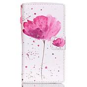 Funda Para Huawei Huawei P8 Lite P8 Lite Funda Huawei Soporte de Coche Cartera con Soporte Funda de Cuerpo Entero Flor Dura Cuero de PU