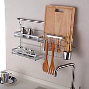 キッチン 金属 ラック&ホルダー