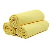 チロルのt22452の3枚マイクロファイバーカークリーニングタオル60 * 40センチメートルカークリーニング布洗浄製品