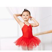 Ropa de Baile para Niños / Ballet Leotardos Entrenamiento Licra Sin Mangas