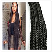Trenza de la torcedura Trenzas de cabello Box Trenzas 51cm Cabello 100 % Kanekalon Cabello para trenzas Extensiones de cabello