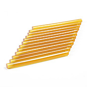 neitsi® conjunto de 12 extensões de cabelo profissional bastões de cola de queratina vínculo arma (amarelo)