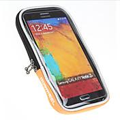 ROSWHEEL Bolsa para Manillar Bolso del teléfono celular 5 pulgada Impermeable Resistente a la lluvia Cremallera impermeable A prueba de