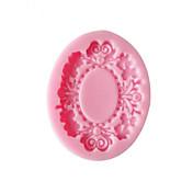 花ベーキングフォンダンケーキチョコレートキャンディ型、l6cm * w5cm * h0.9cm