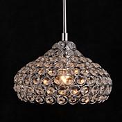 Moderno/Contemporáneo Cristal Mini Estilo Lámparas Araña Luz Downlight Para Sala de estar Dormitorio Cocina Comedor Habitación de