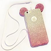 Para iPhone 8 iPhone 8 Plus Funda iPhone 5 Carcasa Funda Diseños Cubierta Trasera Funda Dibujo 3D Suave TPU para iPhone 8 Plus iPhone 8