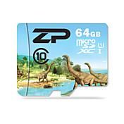 ZP 64GB マイクロSDカードTFカード メモリカード UHS-I U1 クラス10