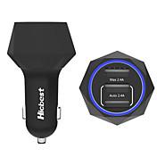 PowerIQ 24w inteligente de 3 puertos USB cargador de coche 4.8a 5v para iPhone / iPad / Samsung / Huawei