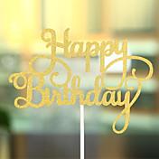Decoración de Pasteles Tema Playa Tema Clásico Corazones Papel de tarjeta Cumpleaños Con Arco OPP