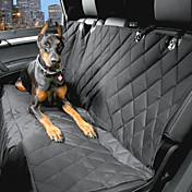 Perro Cobertor de Asiento Para Coche Mascotas Portadores Impermeable / Portátil Negro Algodón