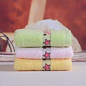 フレッシュスタイル ウォッシュタオル,刺繍 優れた品質 コットン100% ニット タオル