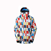 GSOU SNOW 子供用 スキージャケット 防水 保温 速乾性 防風 抗紫外線 耐久性 高通気性 スキー ウィンタースポーツ ポリエステル