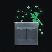 ロマンティック ウォールステッカー キラキラ・ウォールステッカー スイッチステッカー ホームデコレーション ウォールステッカー・壁用シール スイッチ