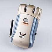 キーレス付き和風wirelesssスマート・リモートドアロック& 4リモートキーを持つ不可視の盗難防止ロックセキュリティドアロック