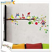 Navidad Pegatinas de pared Calcomanías de Aviones para Pared Calcomanías Decorativas de Pared Decoración hogareña Vinilos decorativos