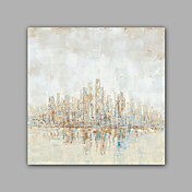 pintado a mano abstracto / paisaje moderno / clásico una pintura al óleo de la lona del panel