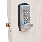 機械式キーレスデジタル機器コードキーパッドパスワード入力ドアロックキーレスロック