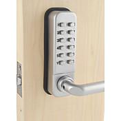 防水レバーハンドル機械的な組み合わせロックーデジタル番号デッドボルトドアコードロック