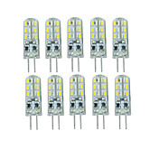 10 Pcs ワイヤー入り Others G4 24 led Sme3014 DC12 v 350 lm Warm White Cold White Double Pin Waterproof Lamp Other