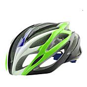 バイクヘルメット 20 通気孔 CE サイクリング ワンピース マウンテン 超軽量(UL) PC EPS ロードバイク レクリエーションサイクリング サイクリング / バイク マウンテンバイク