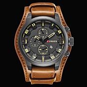 CURREN Hombre Reloj de Pulsera Reloj Militar Reloj de Vestir Reloj de Moda Reloj Deportivo Japonés Cuarzo Japonés Calendario Resistente