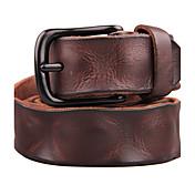 Unisex Cuero Cinturón de Cintura Vintage Todas las Temporadas