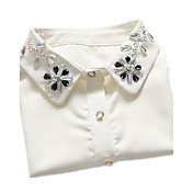 女性 カラー レース イミテーションダイヤモンド ベーシック ファッション ジュエリー 用途 誕生日 日常 カジュアル