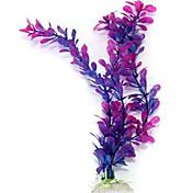 Dekorace akvária Ornamenty Vodní rostlina Bezhlučné Umělé Nastavitelná Umělá hmota Fialová
