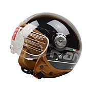 beon B-110 de la motocicleta del casco de la mitad Harley abs anti-niebla anti-ultravioleta del casco de seguridad de manera unisex