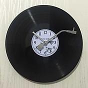 伝統風 田園風 レトロ風 休暇 音楽 家族 壁時計,円形 ポリレジン 30*30 屋内/屋外 屋内 クロック