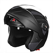 GXT casco de la motocicleta 158 de doble lente anti-niebla casco lleno transpirable