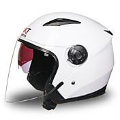 Medio Casco Antiniebla Transpirable Los cascos de motocicleta