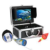 1000tvl kit de la cámara de video bajo el agua la pesca 7 pulgadas 12 pcs Luz de vídeo LED debajo de la cámara de peces de agua