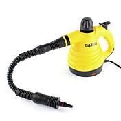 poli subió multifuncional limpiador a vapor de mano de color amarillo