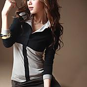女性用 クラシック Tシャツ シャツカラー マルチカラー