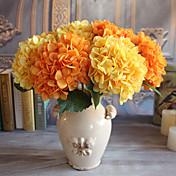 Flores Artificiales 1 Rama Estilo moderno Lilas Flor de Mesa