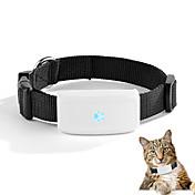 dmdg inalámbrico gsm / gprs / gps rastreador de correa para mascotas con cuello