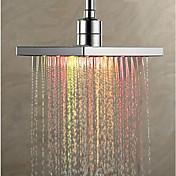 コンテンポラリー レインシャワー クロム 特徴-レインフォール エコ LED , シャワーヘッド