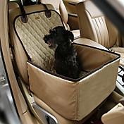 Gato Perro Cobertor de Asiento Para Coche Mascotas Colchonetas y Cojines Un Color Portátil Doble Lado Transpirable Plegable Color