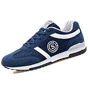 Hombre-Tacón Plano-Confort-Zapatillas de Atletismo-Exterior-PU-