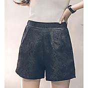 レディース ストリートファッション ハイライズ スリム strenchy チノパン ショーツ パンツ ゼブラプリント