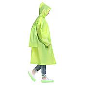 Hombre Mujer Unisex Chubasquero Al aire libre Invierno Impermeable Resistente a la lluvia Cómodo Grueso Ponchos Camping y senderismo Caza