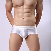 Hombre Súper Sexy Boxers Cortos Un Color 1 Pieza