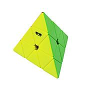 Cubo de rubik QIYI QIMING 174 Pyramid Cubo velocidad suave Cubos Mágicos rompecabezas del cubo Sin pegatina Triángulo Cumpleaños Día del