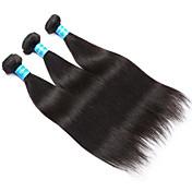 Tejidos Humanos Cabello Cabello Vietnamita Recto 12 meses 3 Piezas los tejidos de pelo