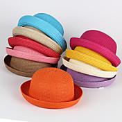 Sombreros y Gorras Niños, Primavera Verano Otoño Fucsia Azul claro Marrón claro Caqui Lavanda