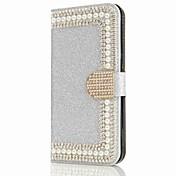 Funda Para Samsung Galaxy S8 Plus S8 Cartera Soporte de Coche Diamantes Sintéticos con Soporte Flip Magnética Cuerpo Entero Dura para S8