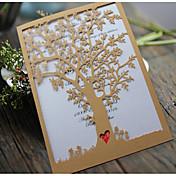 サイド折り 結婚式の招待状-招待状カード 招待状サンプル 母の日のカード ベビーシャワー・カード ブライダルシャワー・カード 婚約披露パーティー・カード モダンスタイル エンボス紙